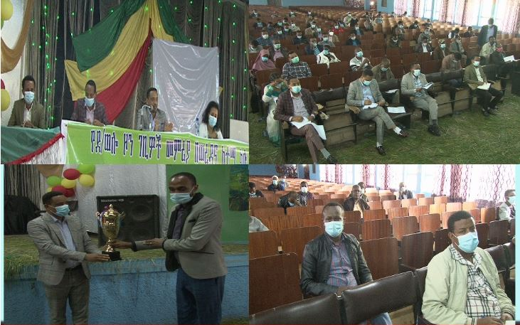 Senior leaders of South Wollo Zone and relevant woreda administrations said they will work hard to collect the revenue generated by the economy in response to the people's demand for development.